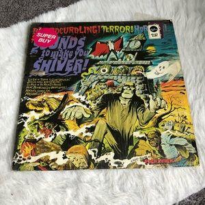Vintage Halloween vinyl record